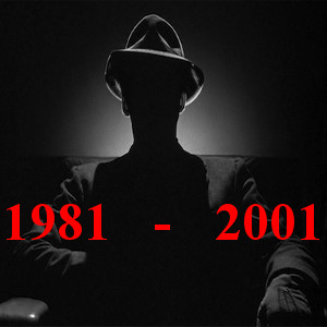 shadowy figure and words The US Deep State, 1981-2001